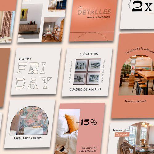 Templates para Mueblería Editables de Canva